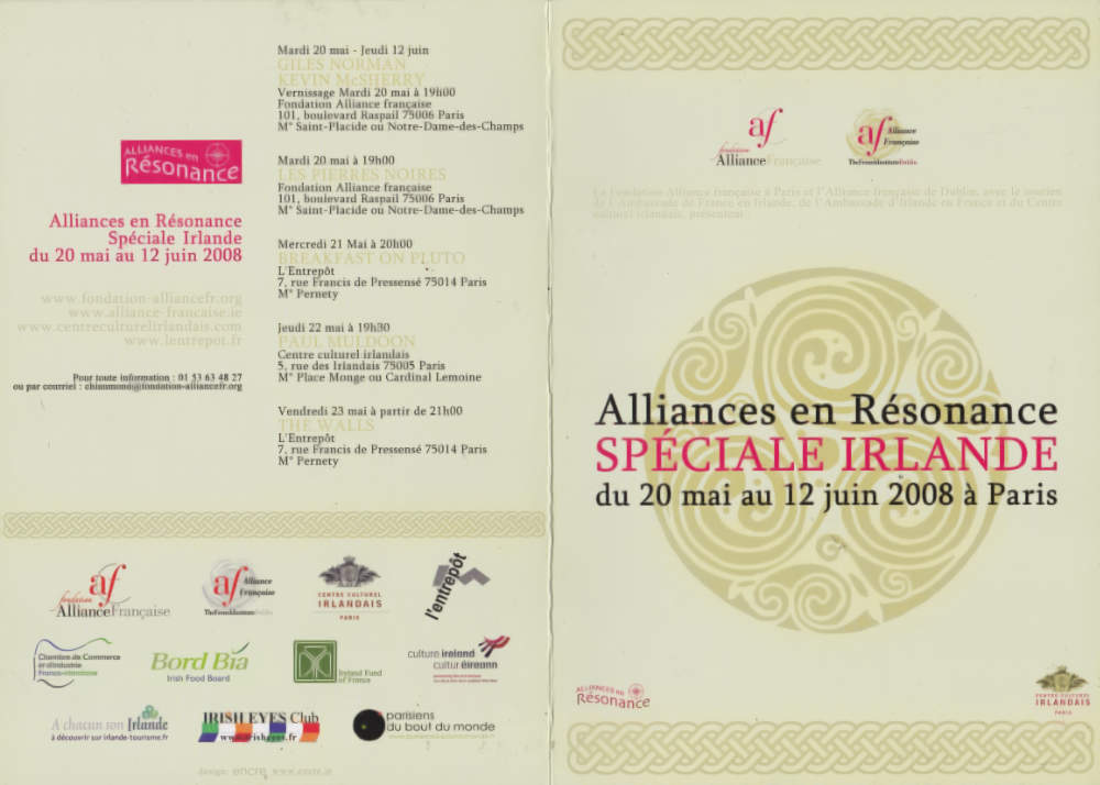 brochure1-Artist-Kevin-McSherry-Paris-2008-Alliance-en-Resonance-Exhibition