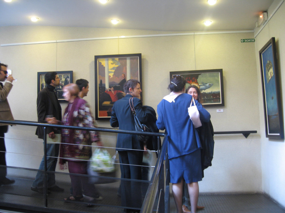 soirée-irlande-133-Artist-Kevin-McSherry-Paris-2008-Alliance-en-Resonance-Exhibition