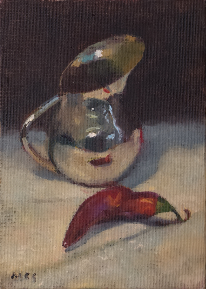 DP181004 Silver and Chili Study