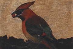Shadow of the Waxwing. SOLD