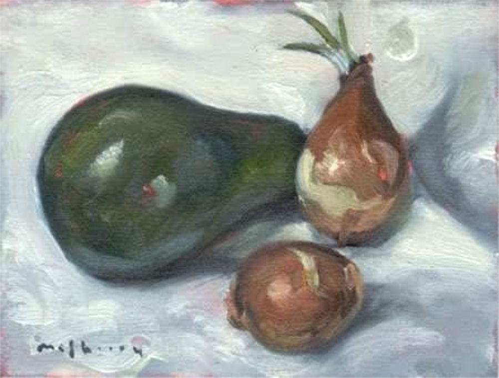 Avocado and Onions Study