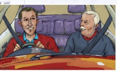 kevin mcsherry storyboards dad son driving