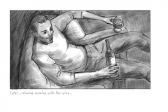 kevin mcsherry storyboards mono wine drinker