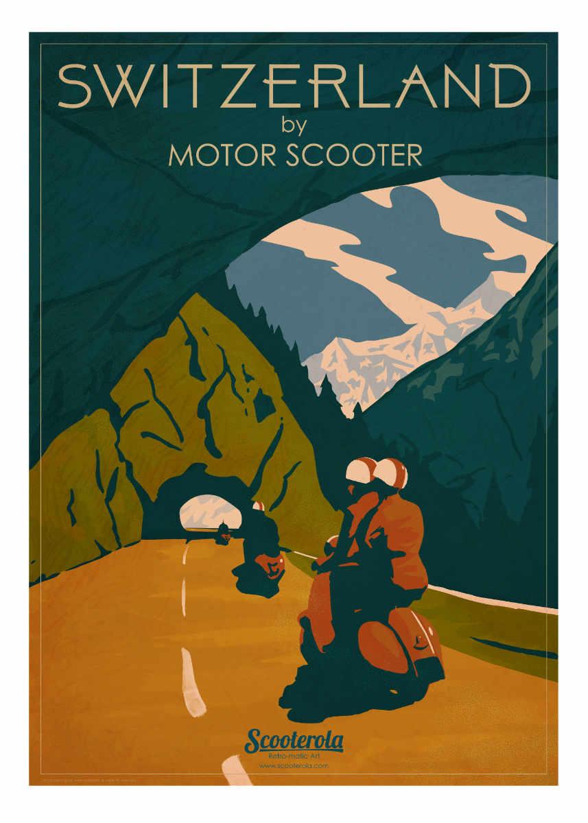 SC180151 Switzerland by Motor Scooter
