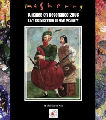 Alliance française Alliances en résonance Exhibition, Paris 2008