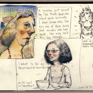 Kevin McSherry sketchbook