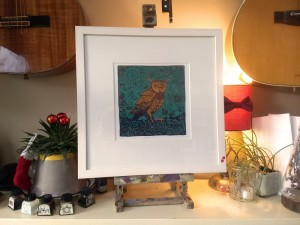 180329 Night-Owl-kevin-mcsherry-limited-edition-giclee-print-framed