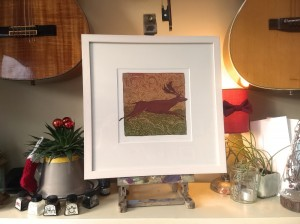 180615 Red-Stag-kevin-mcsherry-limited-edition-giclee-print-framed