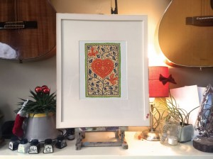 180809 Love Birds mcsherry-kevin-limited-edition-giclee-print-framed