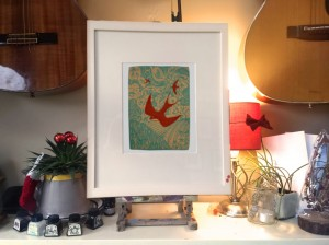 180817 Swallows-kevin-mcsherry-limited-edition-giclee-print-framed