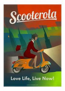 SC170505 Scooterola Girl Artwork